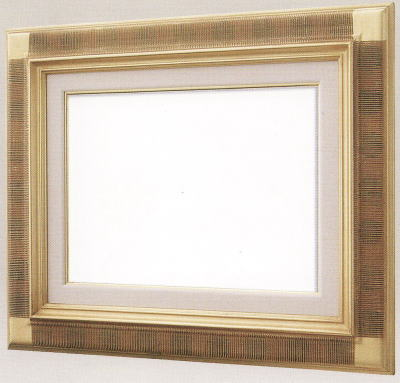 【送料無料】油絵用額縁 F20号キャンバス用平懸桟(同志舎) 木製