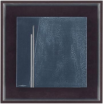 ミクストメディア【送料無料】HIBELL ART 抽象アートシリーズ[ 吉津 信一/MESSAGE OF THE EARTH 01  ] HL-5079A版画作品でお部屋を洗練させるインテリアアート。