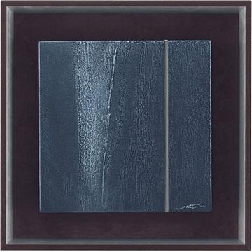ミクストメディア【送料無料】HIBELL ART 抽象アートシリーズ[ 吉津 信一/MESSAGE OF THE EARTH 02  ] HL-5080A版画作品でお部屋を洗練させるインテリアアート。