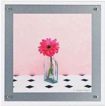 【送料無料】HIBELL ART(ハイベルアート)アートポスター・スマート写真アートシリーズ藤田 一咲/フラワーポートレート 01 HS7037作家作品や作品印象がグレード感を演出するインテリアアート