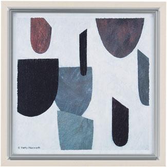 【送料無料】HIBELL ART(ハイベルアート)アートポスター・スタイリッシュ抽象アートシリーズヘティ ハックスワース/タブロー 01 HS-7058作家作品や作品印象がグレード感を演出するインテリアアート