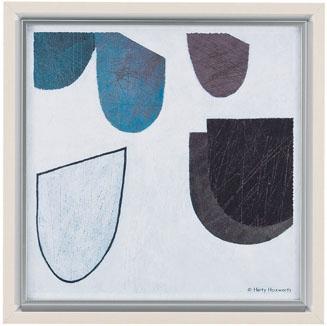【送料無料】HIBELL ART(ハイベルアート)アートポスター・スタイリッシュ抽象アートシリーズヘティ ハックスワース/タブロー 02 HS-7059作家作品や作品印象がグレード感を演出するインテリアアート