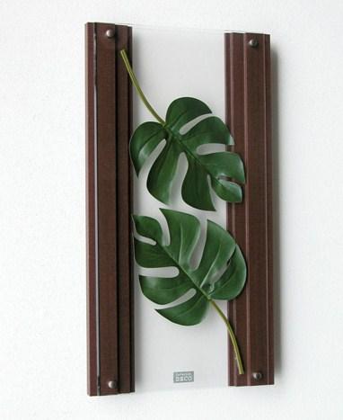 アートパネル・インテリア装飾品・壁面装飾【送料無料】InteriorDECO スマートグリーンシリーズ IN0112空間を魅力的にデザインする新しいウォールデコレーション
