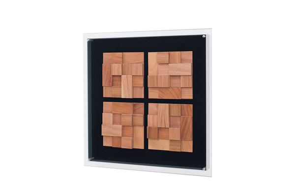 アートパネル・インテリア装飾品・壁面装飾【送料無料】InteriorDECO ウッドシリーズ IN3044 新しいウォールデコレーション