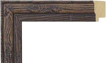 オーダーサイズ・オリジナルフレーム・別注フレーム・カスタムフレーム製作 Weathered (ウェザード) 16-6606 カラー:黒 縦+横の寸法(実寸・組寸)計 499mmまで