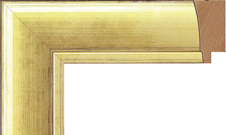 オーダーサイズ・オリジナルフレーム・別注フレーム・カスタムフレーム製作 LARSON-JUHL(ラーソン・ジュール) D-21030 カラー:金 縦+横の寸法(実寸・組寸)計 499mmまで