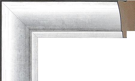 お好みのサイズ 寸法でオリジナルのフレーム 額縁をお作りします オーダーサイズ オリジナルフレーム 別注フレーム カスタムフレーム製作 LARSON-JUHL ラーソン カラー:銀 実寸 499mmまで 縦 組寸 ショップ 数量限定 横の寸法 D-21031 計 ジュール