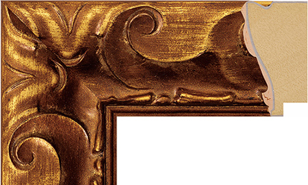 【送料無料】オーダーサイズ・オリジナルフレーム・別注フレーム・カスタムフレーム製作 LARSON-JUHL(ラーソン G-21003・ジュール) G-21003 カラー:金縦+横の寸法(実寸・組寸)計 499mmまで, 都留市:39a400f8 --- sunward.msk.ru