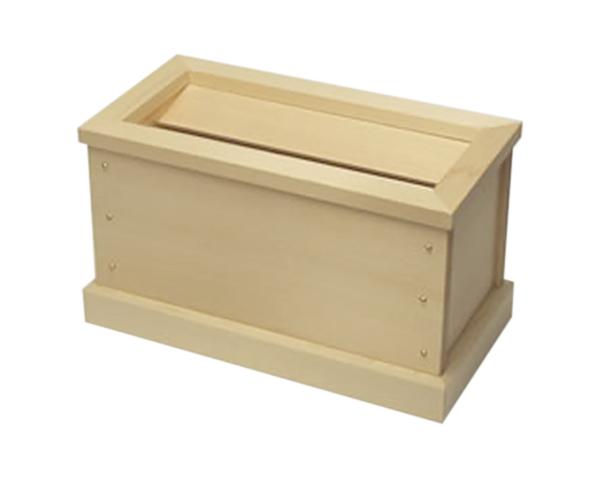 小型賽銭箱 木曽桧 8寸