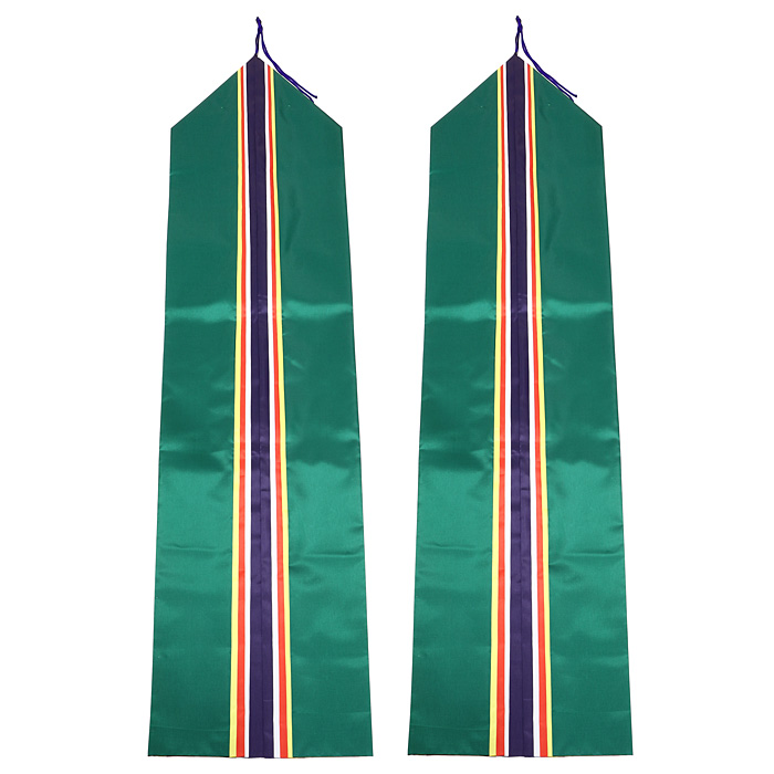真榊 五色絹二重垂のみ (布長4尺 ミナロン)