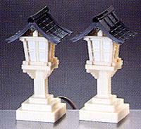 【神棚・神具】 灯籠 PCコード式 白 小