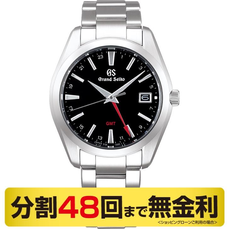 【2000円OFFクーポン&ポイント大幅UP 16日1:59まで】【60周年クロス プレゼント】グランドセイコー GMT クオーツ SBGN013 メンズ腕時計 (48回)