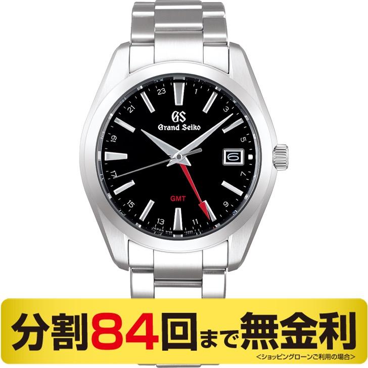 【2000円OFFクーポン&ポイント大幅UP 16日1:59まで】【60周年クロス プレゼント】グランドセイコー GMT クオーツ SBGN013 メンズ腕時計 (84回)
