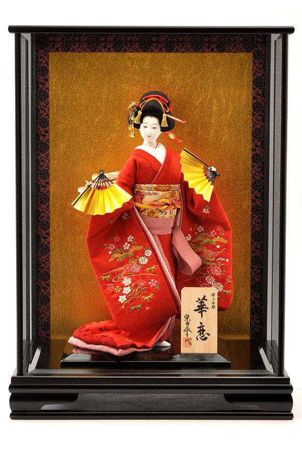 日本人形 10号 柴田家千代 華恋 高級ケース入り 尾山人形 御所人形