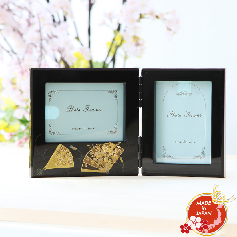 Souvenir Of Dance Photo Frame L Size Japan On The Lacquer Work Accessory Mountains Lacquerware Double Photoframe Sky