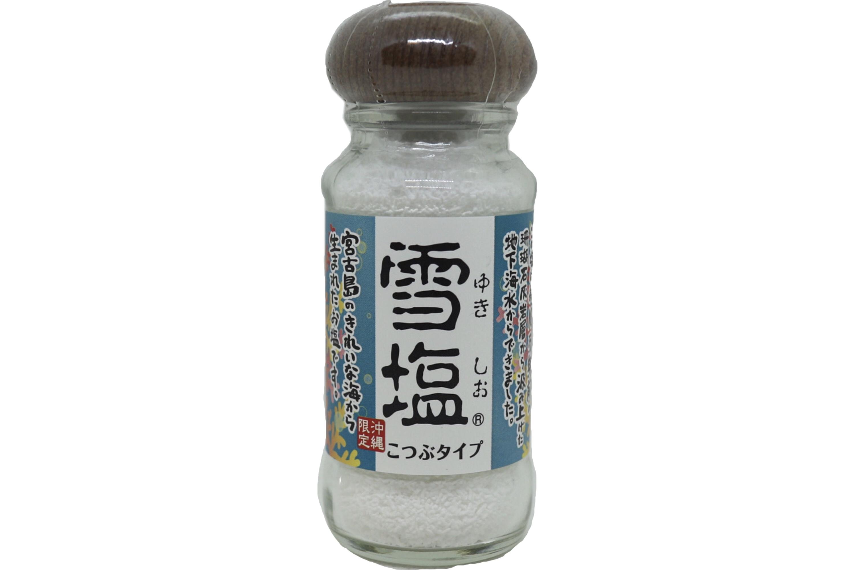 5☆好評 宮古島のきれいな海が身体の中にしみ込んでいく~ 雪塩こつぶタイプ 特売 瓶 55g