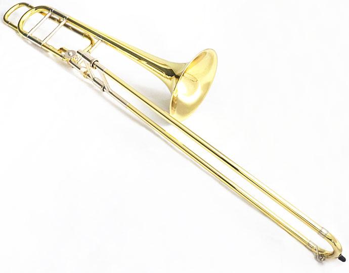 【在庫有り/完全調整】V.Bach バック テナーバストロンボーン 42BO GL ラッカー仕上げ [管楽器]