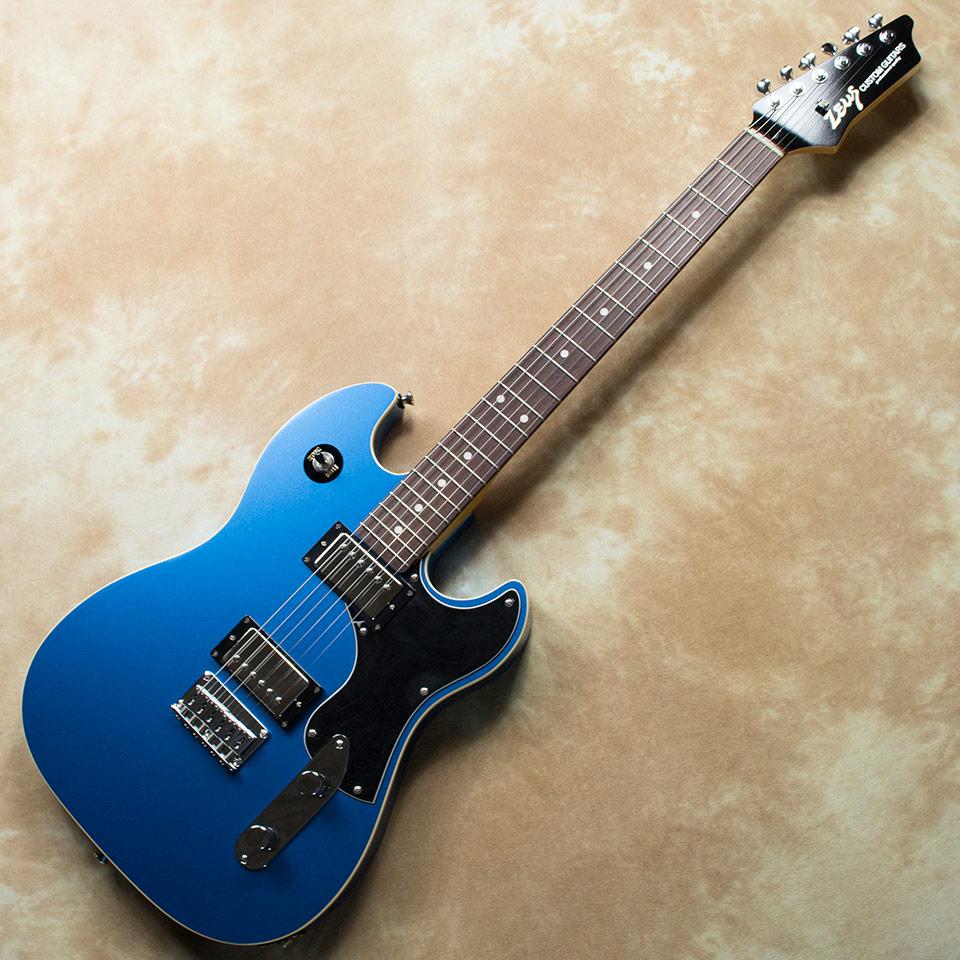 Zeus Custom Guitars/ZAT-STD Athena #17206 (Blue Metalic)【在庫あり】【中古】