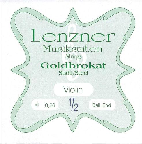 低価格ながら優れた音色と弾き心地 ヴァイオリン弦 Goldbrokat ゴールドブロカット E 1 0.26 新品■送料無料■ 当店は最高な サービスを提供します 2サイズ用 ※メール便対応