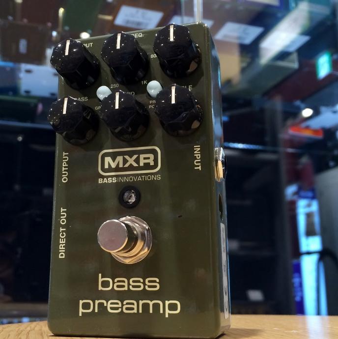 MXR/M81 Bass Preamp【在庫あり】【店頭受取対応商品】
