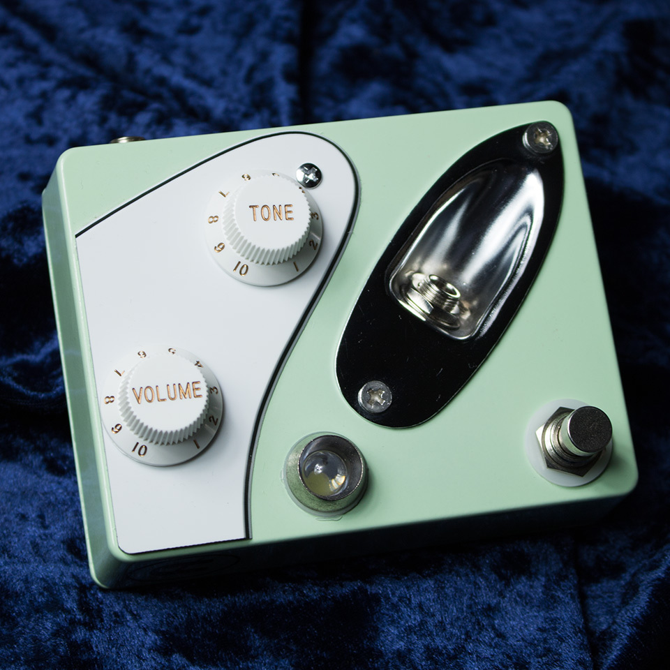COPPERSOUND PEDALS/Strategy Boost #021 (Surf Green / White 3Ply)【在庫あり】