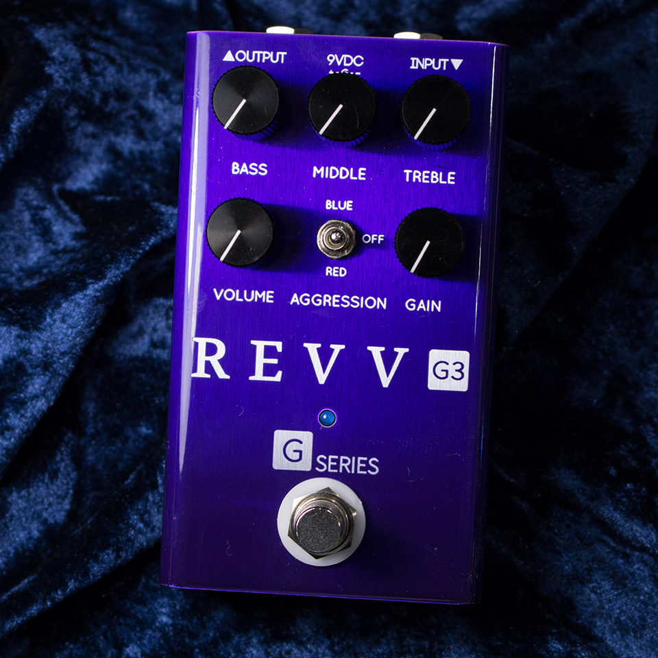 REVV Amplification/G3 PEDAL【在庫あり】【再入荷!】