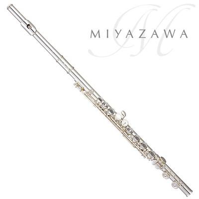 MIYAZAWA ミヤザワ フルート Atelier-2EBR 管体銀製/Eメカ付き ※送料無料[管楽器]【店頭受取対応商品】