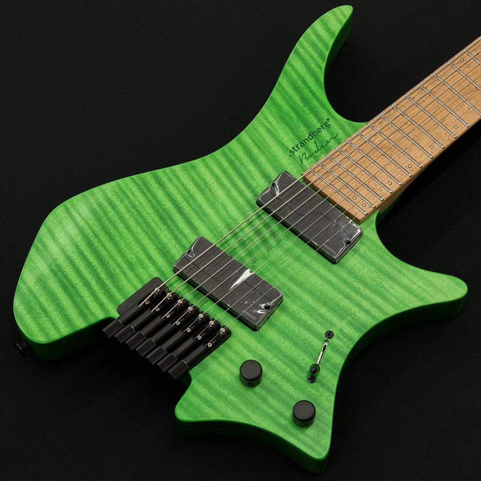 strandberg/Boden Original 7 (Green/Maple) w/Fishman Fluence Modern【在庫あり】【トップ選定品】【Boden Original在庫強化中】