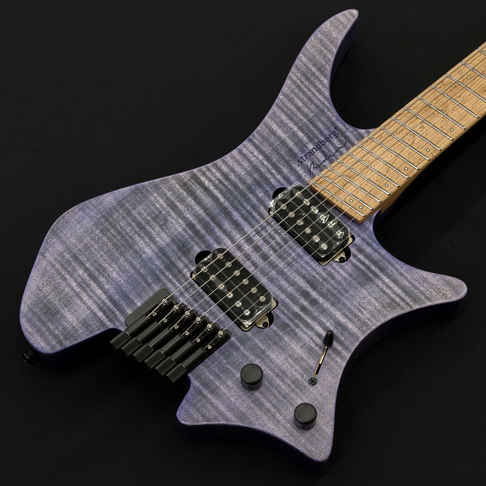 strandberg/Boden Original 6 (Purple/Maple) w/Suhr Humbucker P.U【在庫あり】【トップ選定品】【Boden Original在庫強化中】