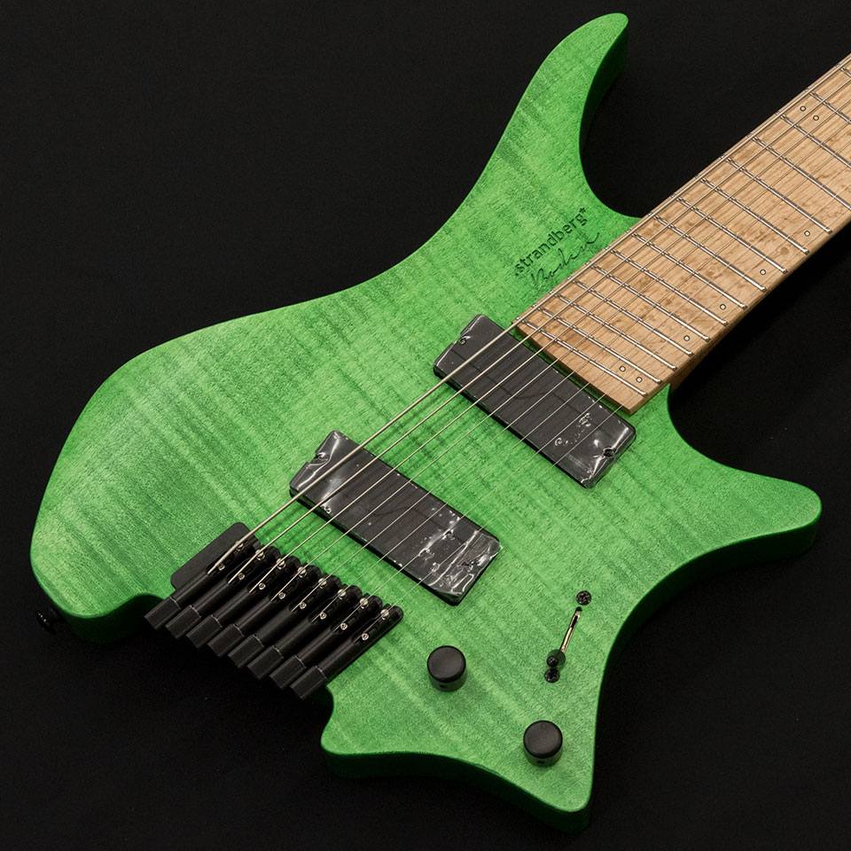strandberg/Boden Original 8 (Green / Maple) w/Fishman Fluence Modern【在庫あり】【トップ選定品】【Boden Original在庫強化中】