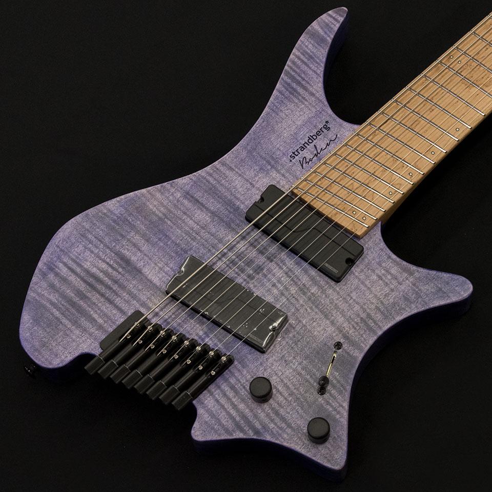 strandberg/Boden Original 8 (Purple / Maple) w/Fishman Fluence Modern【在庫あり】【トップ選定品】【Boden Original在庫強化中】