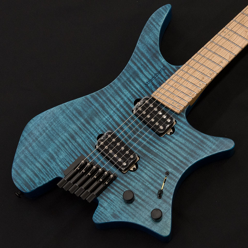 strandberg/Boden Original 6 (Blue/Maple) w/Suhr Humbucker P.U【在庫あり】【トップ選定品】【Boden Original在庫強化中】