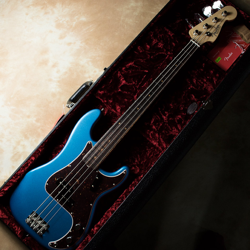 Fender/American Original Precision Bass RW LPB(Rosewood/Lake Placid Blue)【在庫あり】