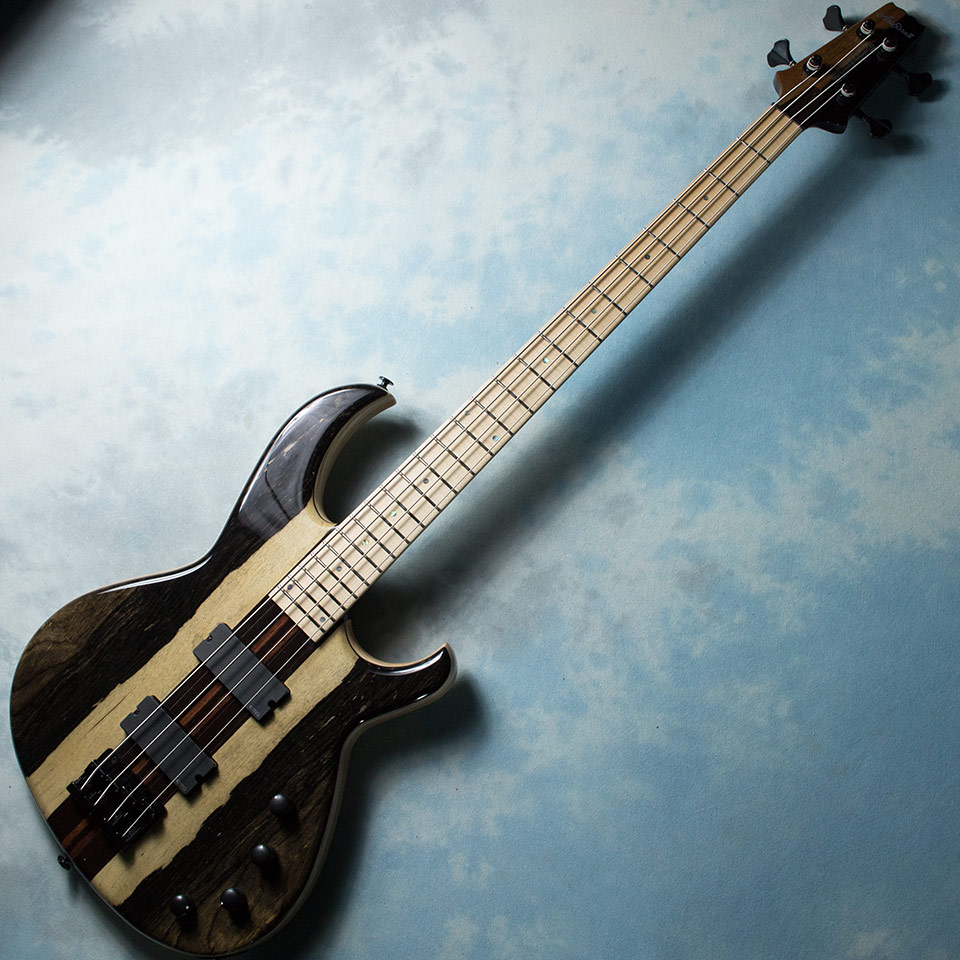 Aria Pro II/SB-SW/BWE N (Black and White Ebony Top / Maple)【在庫あり】