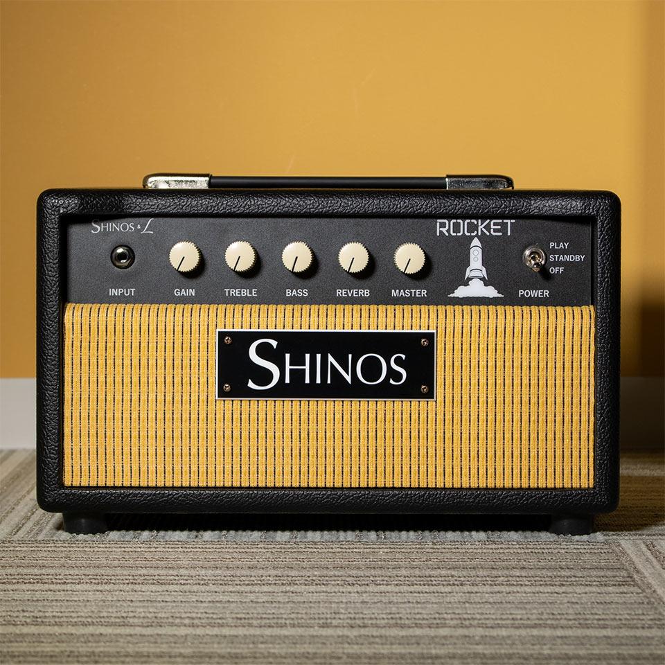SHINOS L ROCKET Black 6L6GCのヘッドバージョンが登場 ブランド品 在庫あり 引き出物 SHINOSL HEAD 即納可 6L6GC