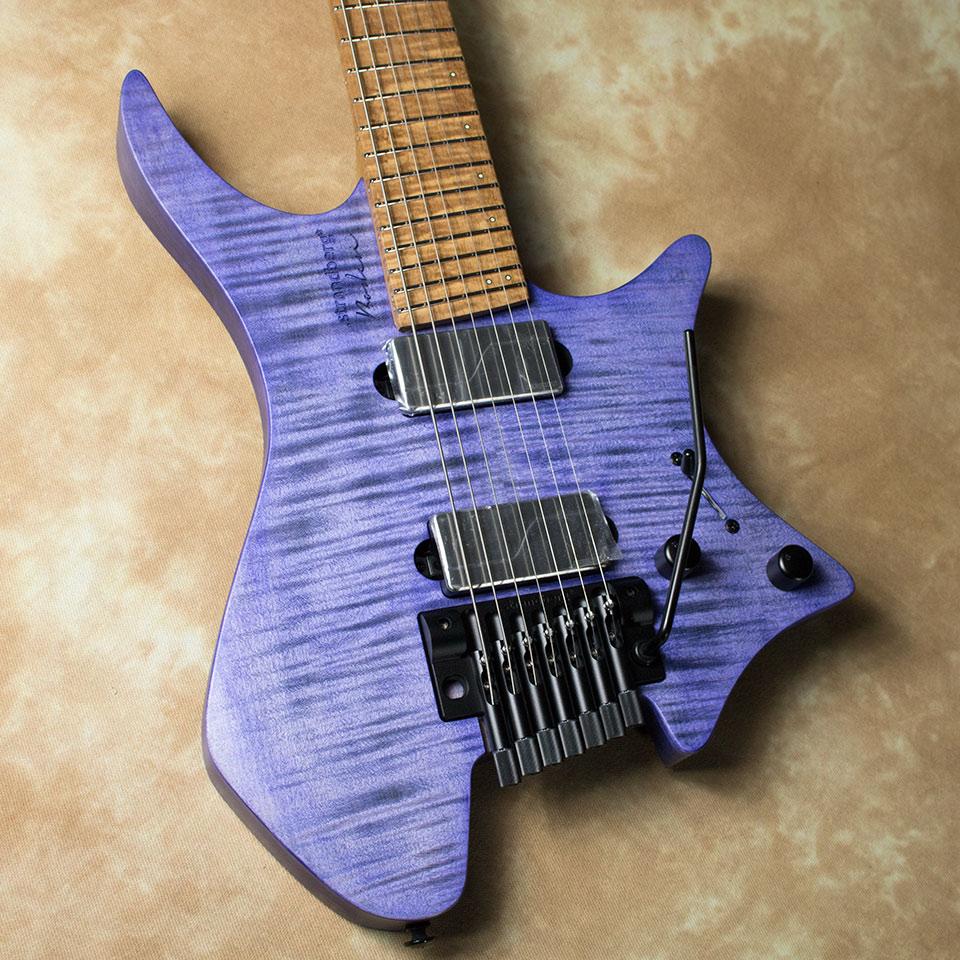 strandberg/Boden Original 7 TR (Tremolo / Purple / Maple) w/Fishman Fluence P.U【在庫あり】【トップ選定品】【Boden Original在庫強化中】