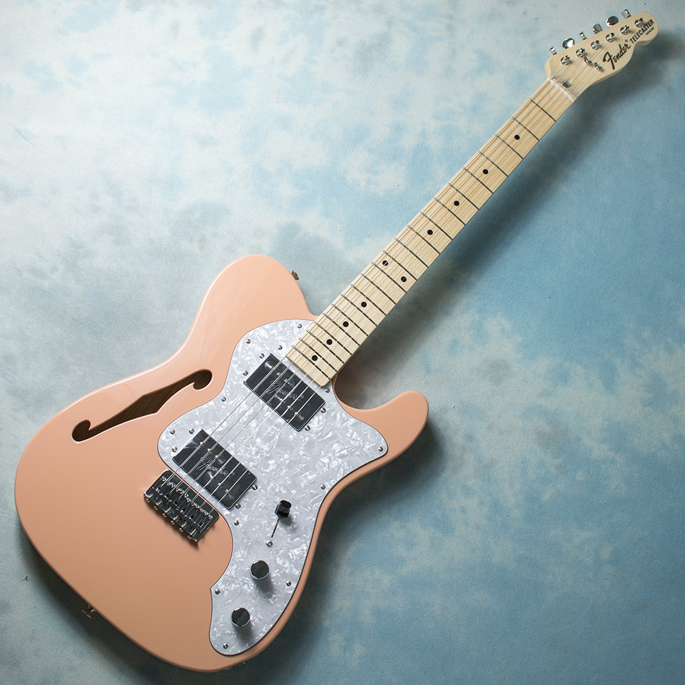 Fender Made In Japan Traditional 70s Telecaster Thinline Flamingo Pink【在庫あり】