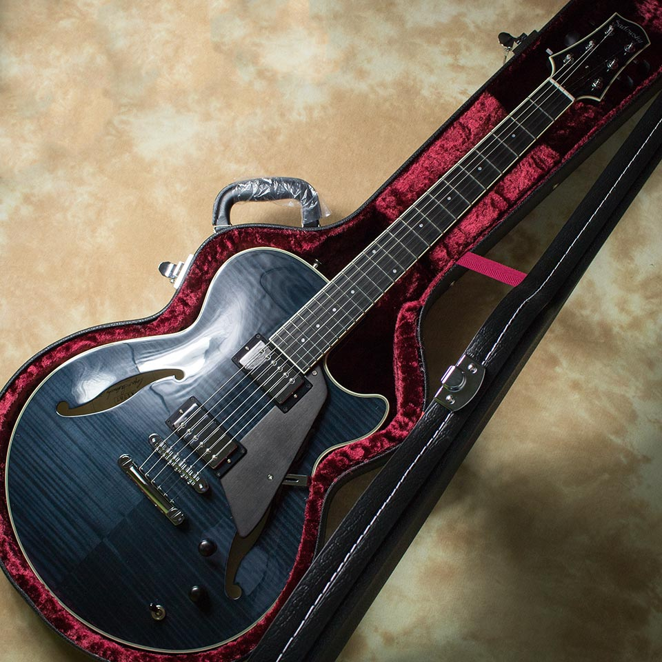 Sadowsky/Archtop Series Semi-Hollow Model Trans Black【旧定価】【在庫あり】