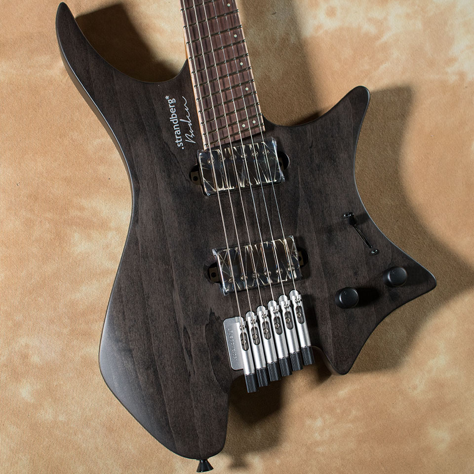 strandberg/J6 Standard Non Veneer Top Customized with Bare Knuckle The Mule TBK【オーダーモデル】【在庫あり】