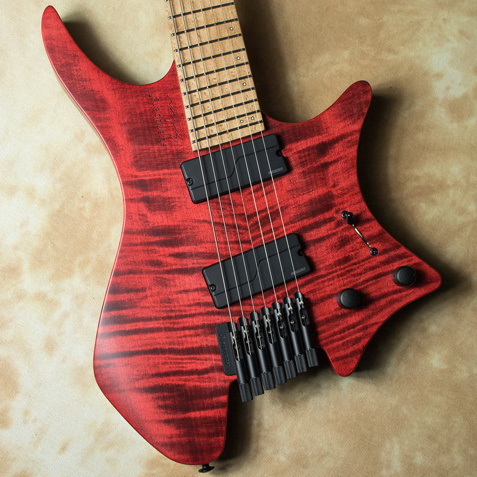 strandberg/Boden Original 7 (Red / Maple) w/Fishman Fluence Modern【在庫あり】