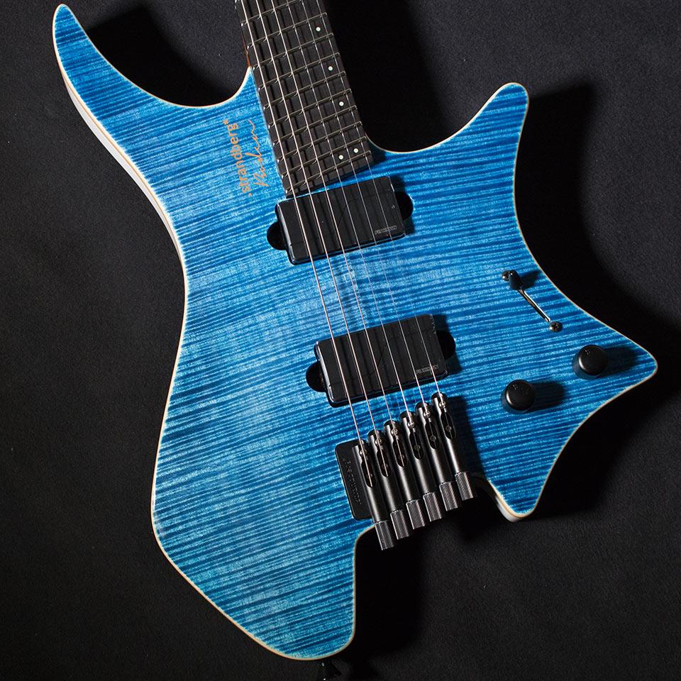 strandberg/Boden J-Series J6 Standard 5A Maple Top Gloss (Blue / Ebony)【在庫あり】