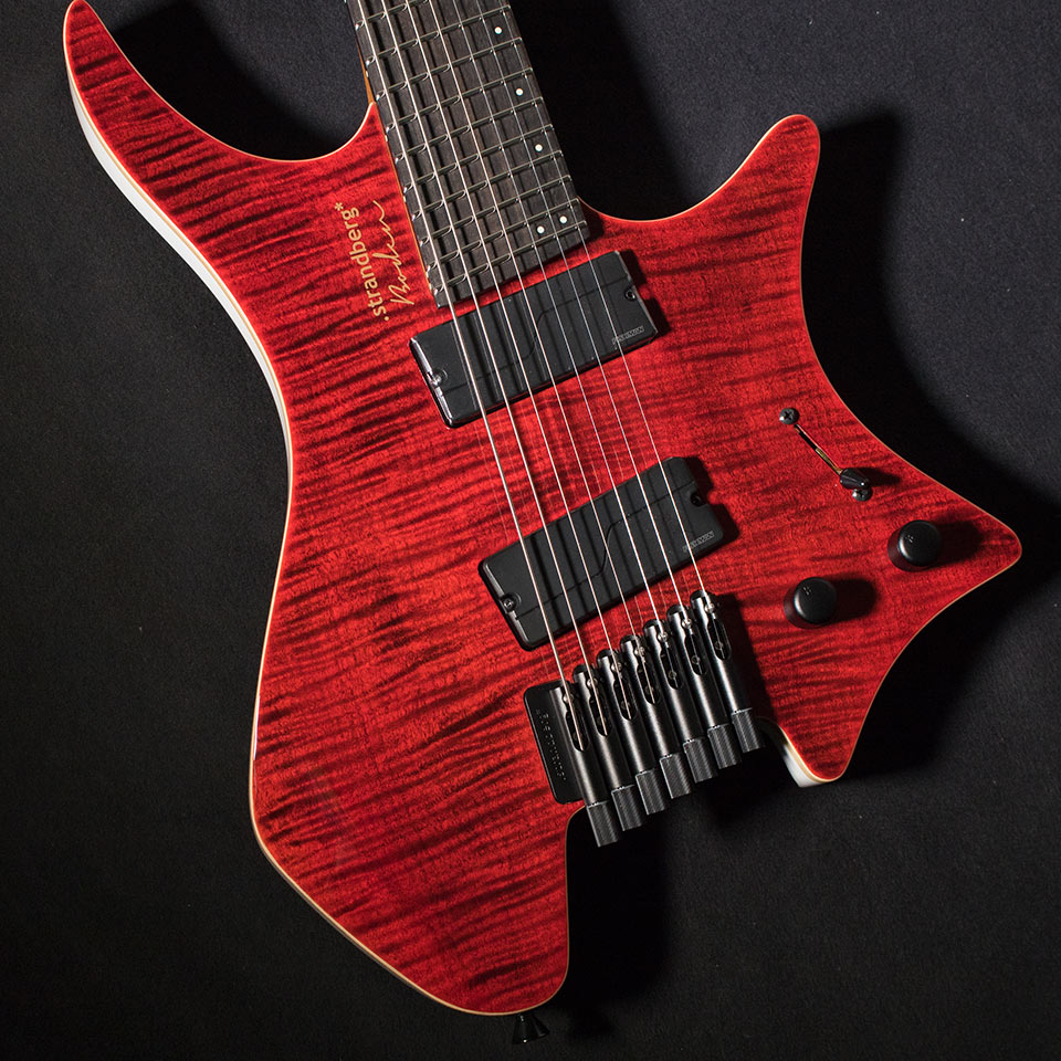 strandberg/Boden J-Series J7 Standard 5A Flame Maple Gloss (Red / Ebony)【在庫あり】