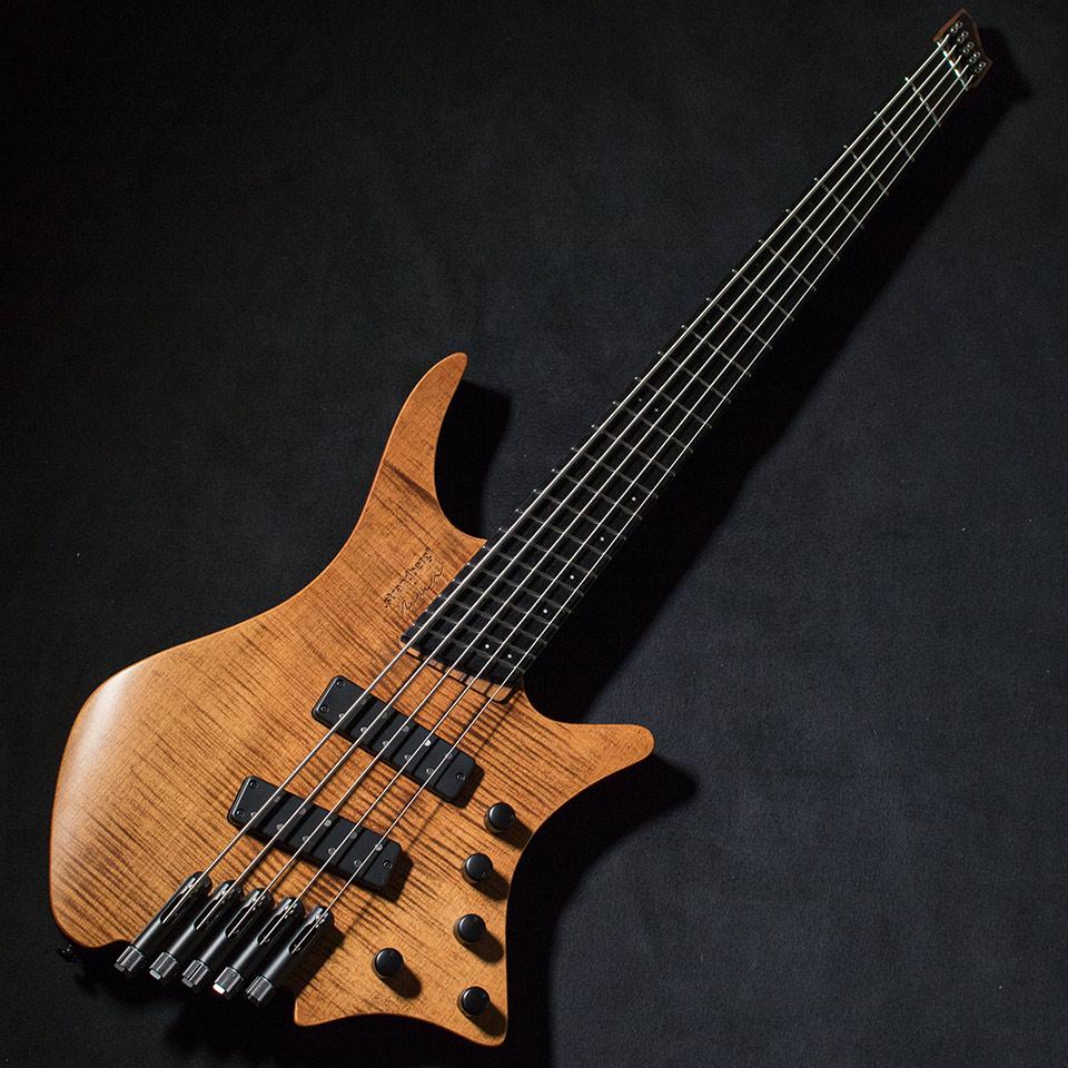 strandberg/Boden Bass Prog 5 Strings (Brown)【在庫あり】