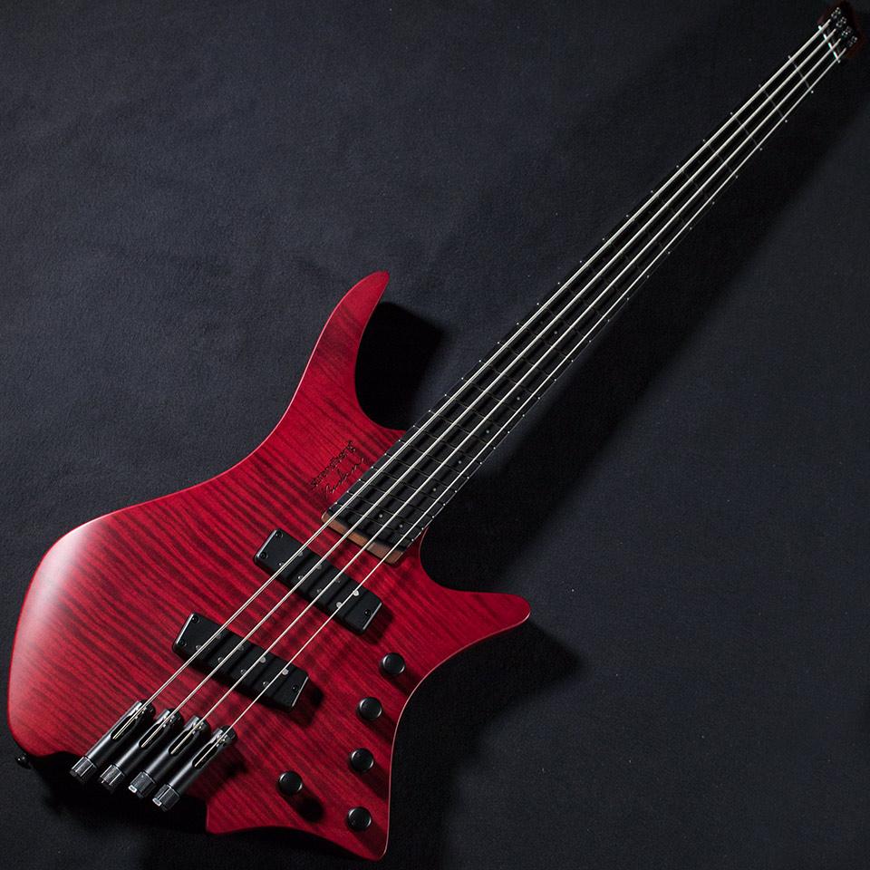 strandberg/Boden Bass Prog 4 Strings (Red)【選定品】【在庫あり】