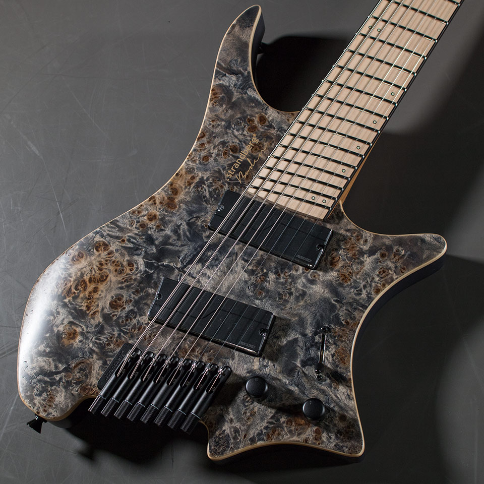 strandberg/Boden J8 Standard Poplar Burl with FISHMAN (Scoot / Maple)【在庫あり】