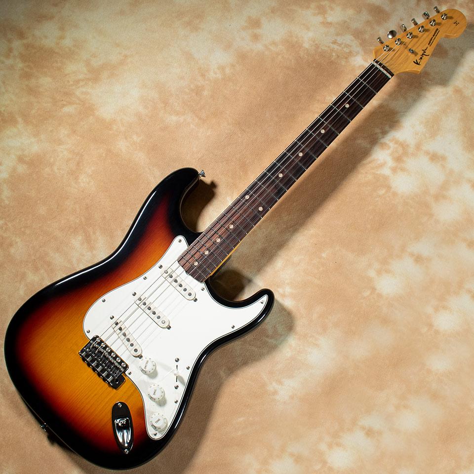 K.Nyui のヴィンテージスペックST ランキングTOP5 ハカランダ指板採用モデル Custom Guitars KN-ST Alder 送料無料 激安 お買い得 キ゛フト Brazilian P.U Sunburst 在庫あり 3-Color ThroBak Rosewood 展示品キズあり特価 w