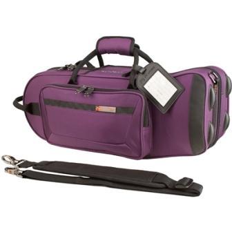 PROTEC プロテック トランペット セミハードケース PB-301TLPR 紫 (トラベルライト) ※お取寄特価【店頭受取対応商品】