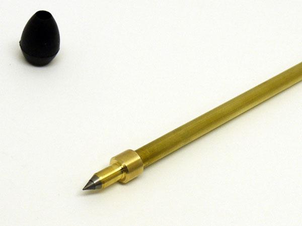 [受注生産] 見附精機工業製 チェロエンドピン カルテット(直径8mm) ※送料無料【レッスングッズ】