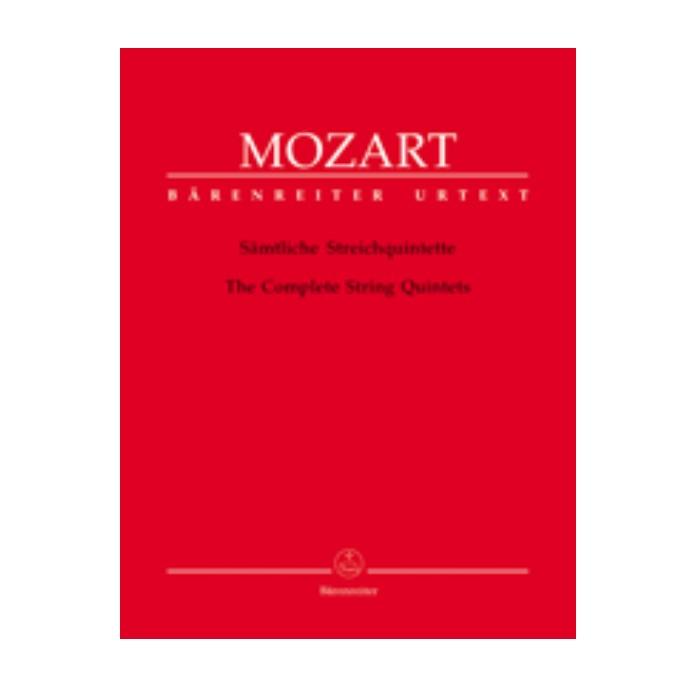 輸入楽譜 室内楽楽譜 弦楽五重奏曲全曲 String Quintets Complete: KV 174 515 516b 406 516 593 ついに再販開始 期間限定送料無料 614