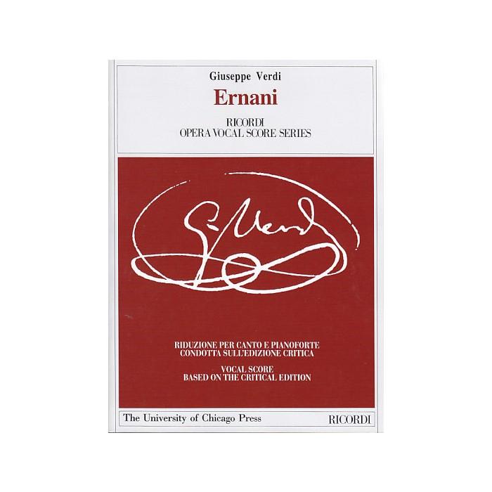 輸入楽譜 オペラ お気に入り 歌劇 エルナーニ Ernani: Dramma in Acts lyrico I E お洒落 4